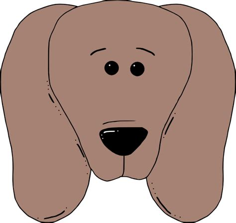 dog face  clip art  clkercom vector clip art