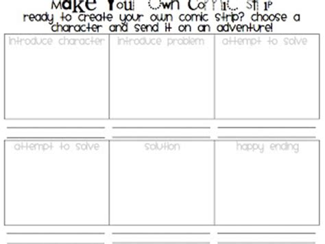 make your own comic template 3 6 free resources comic format