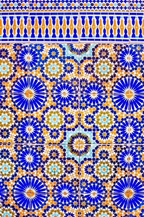 moroccan tile pattern geometric print pinterest zellige the art of traditional moroccan mosaics morocco