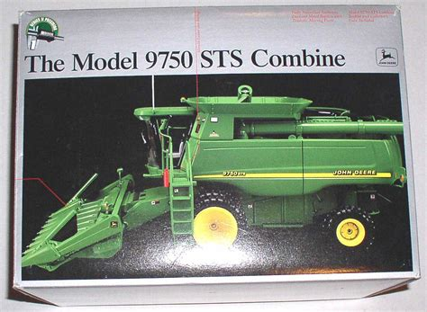 antique rubber sts precision deere 9750 sts combine 1 32 series ii