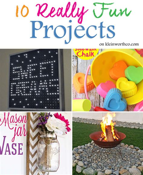 Best Diy Crafts Ideas Creative Reflection 365 Days To - 10 really projects kleinworth co