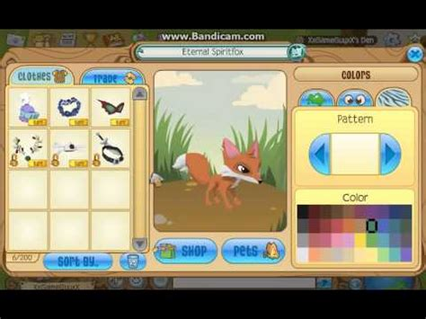 pattern jam closing animal jam cool patterns for your fox youtube