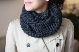 Easy Infinity Scarf Knitting Pattern Fifth Avenue Infinity Scarf Free Knitting Pattern From The
