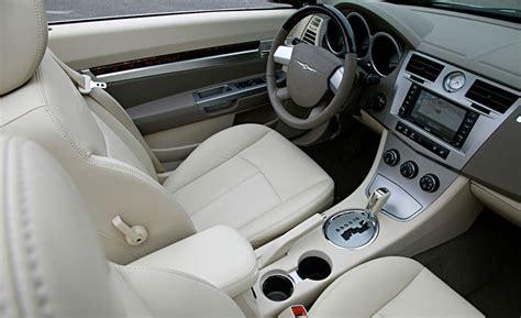 2008 Chrysler Sebring Interior car and driver