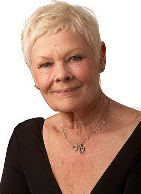 judi dench hairstyle front and back of head top judi dench pixie haircut images for pinterest tattoos