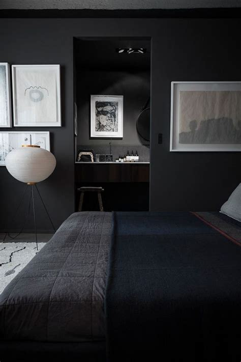 Bedroom Ideas Black And White And Blue 25 Best Ideas About Black Bedroom Walls On
