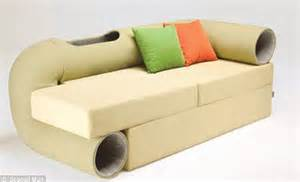 cat tunnel sofa sweet dreams now you can cuddle up to a chocolate cupcake slice of pizza or even a sushi