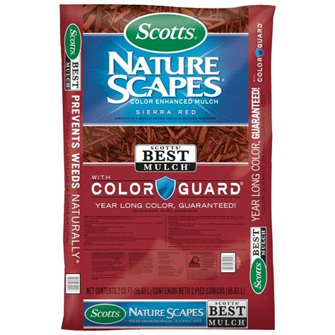 scotts 2 cu ft naturescapes color enhanced