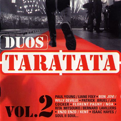 various duos taratata vol 2 cd album at discogs