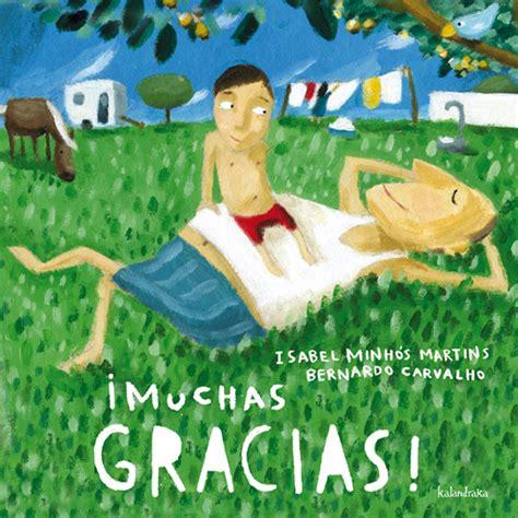 libro gracias kalandraka book details
