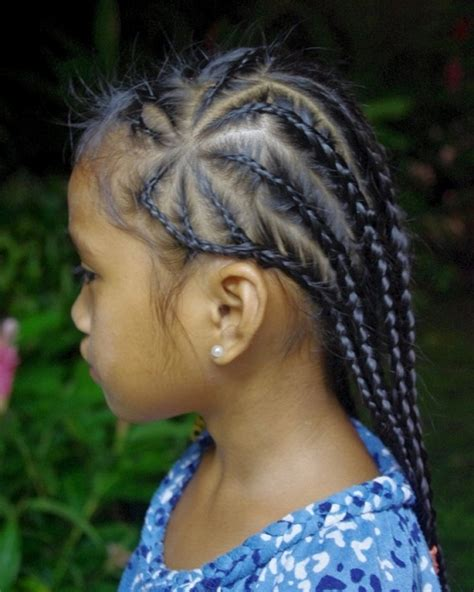 hairstyles braids for little girl cute little black girl hairstyles with braids