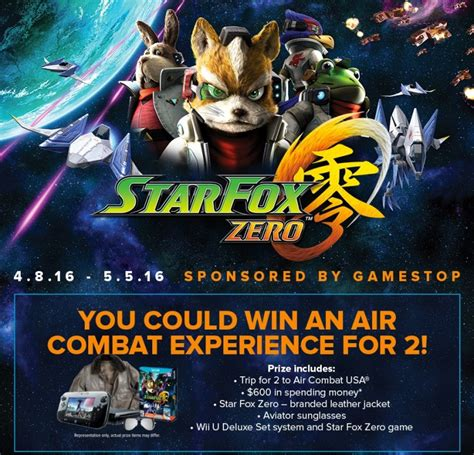 Fox Sweepstakes - star fox zero news roundup 2 krystal archive