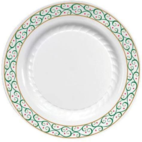 top 28 plastic christmas plates 2 happy holidays