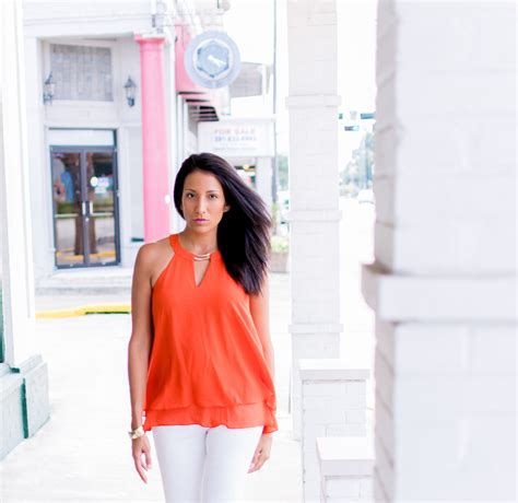 Tips For Wearing Orange tips to wearing bright orange positively beautiful