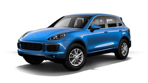 2017 porsche cayenne gts blue 2017 porsche cayenne exterior color options