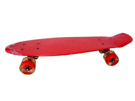 penny board light up wheels plastic penny style skateboard with led light up wheels