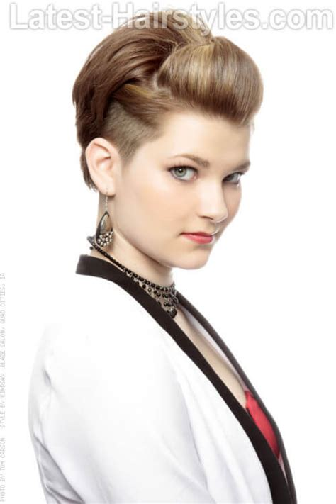short hairstyles with height short hairstyles with height and volume