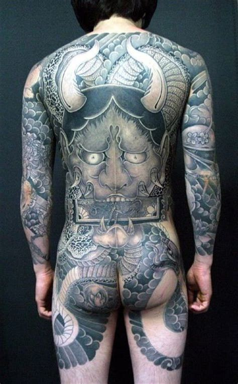 yakuza tattoo brushes demon japanese yakuza tattoo idea japanese tattoo
