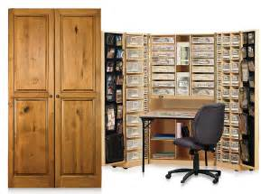 Home Office Desk Armoire by Home Office Furniture Original Scrapbox Workbox
