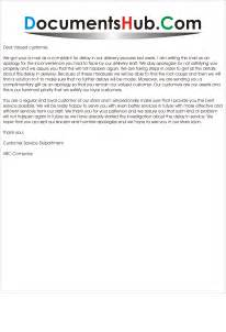 Reply Business Apology Letter apology letter for delay in service delivery documentshub com