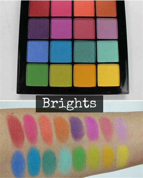 Eyeshadow Nyx nyx ultimate shadow palette swatches the budget