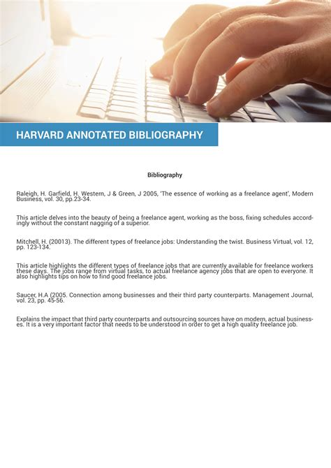 harvard bibliography generator help on how to do an annotated bibliography harward style