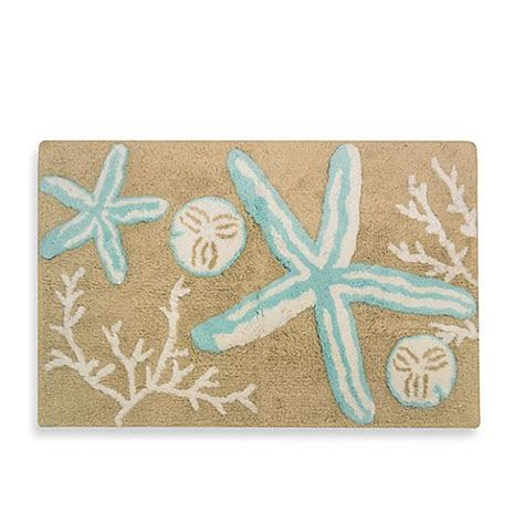 Bed Bath Beyond Bathroom Rugs Tremiti Starfish Bath Rug Bed Bath Beyond