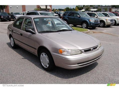 2000 Toyota Corolla Ce 2000 Sandrift Metallic Toyota Corolla Ce 33744803