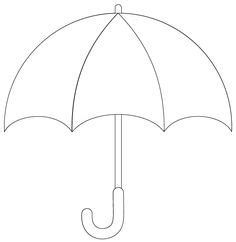 printable umbrella template for preschool umbrella cards on umbrellas umbrella