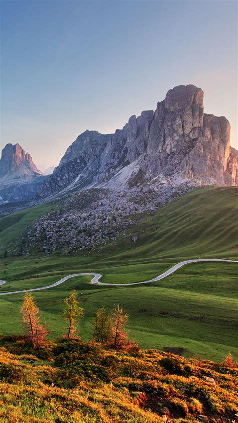 nature  mountains landscape  alps passo giau