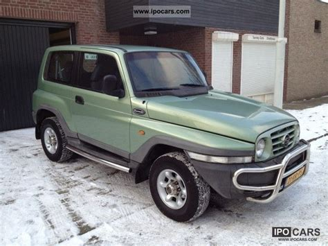 ssangyong korando 1999 1999 ssangyong korando 3 2 petrol car photo and specs