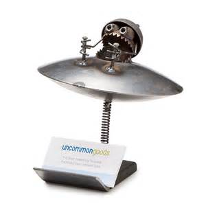 office business card holder ufo business card holder office supplies gifts
