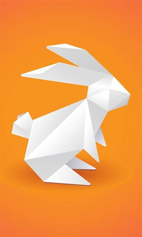 Paper Animals Origami - origami bunny ideas