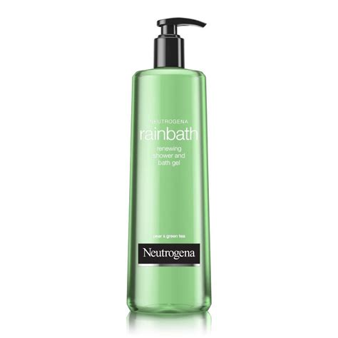 bathtub gel neutrogena rainbath rejuvenating shower and bath gel