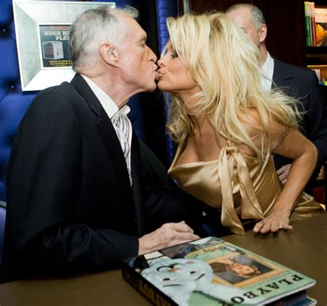 Hefner Thrilled About Pam Andersons Divorce by Opens Up About Amazing In