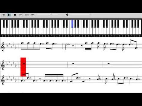 tutorial piano locked away r city ft adam levine locked away sheet music piano