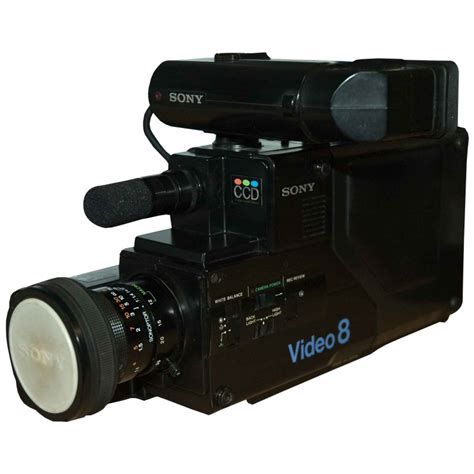 vide8 camcorder prop hire sony video 8 video camera
