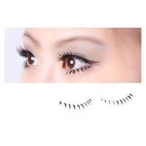 40 pair black soft lower bottom false eyelashes 4 style set