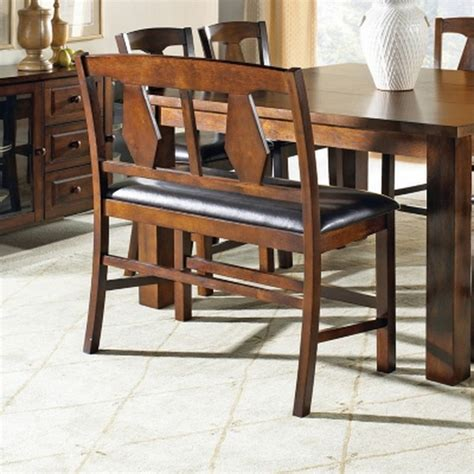 counter height table with bench new 6 piece counter height dining set table bench 4 chairs cherry finish ebay