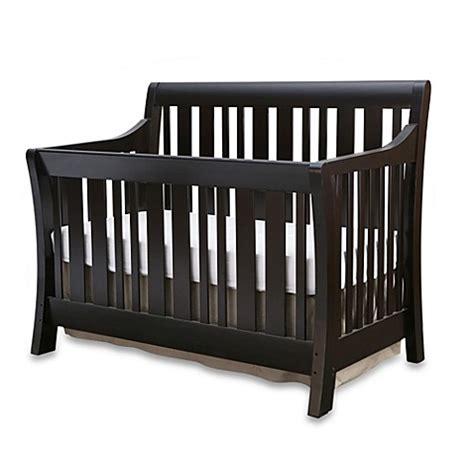 Espresso Convertible Crib Nursery Smart 174 Darby Convertible Crib In Espresso Bed Bath Beyond