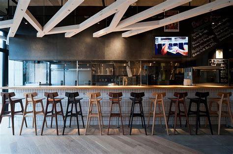 designboom cafe japan fukuoka prf a study designs craft beer restaurant