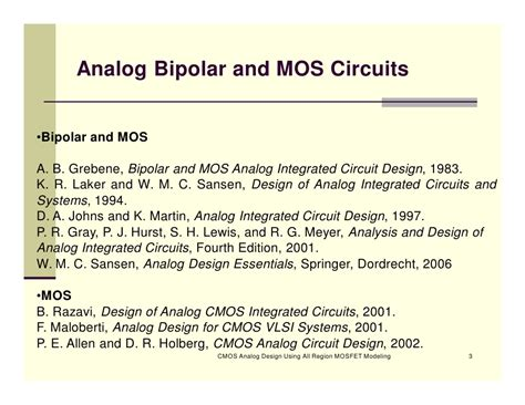 cmos analog integrated circuit design razavi razavi analog circuit images