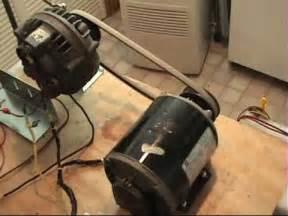 Electric Car Conversion Alternator Hho Using A Car Alternator