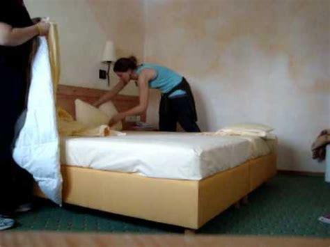 how to make a hotel bed how to make a hotel bed youtube