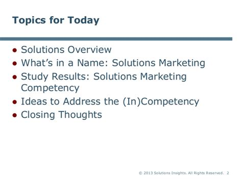 today solution the new solutions marketing skills set how to develop