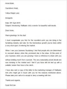 Exle Of Introduction Letter In Business Business Introduction Letter Exle The Best Letter Sle