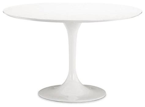 42 inch white dining table mod imports flower dining table in white 42