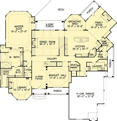 master down classic house plan 15608ge 1st floor classic master down house plan 15607ge 1st floor