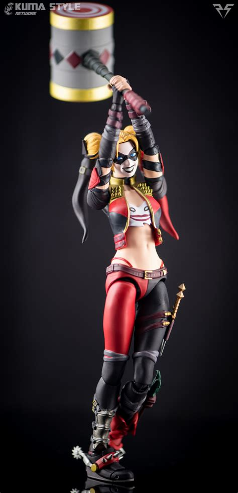 We107 Shf Harley Quinn Injustice Ver plastic spark reviews figuarts harley quinn injustice ver kuma style