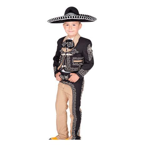 traje de charro traje charro de ni 241 o color negro con cafe charro azteca